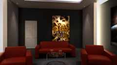 Home Cinema Stock Footage