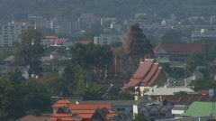 Thailand: Chiang Mai's Wat Chedi Luang sequence Stock Footage