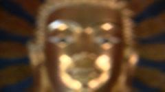 Buddha in focus  Stock Footage