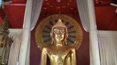 Buddha zoom in Stock Footage