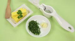 Timelapse Garlic Butter Stock Footage