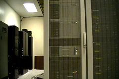 data center tracking - stock footage