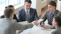 Business group - stock footage