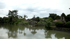 Stock Video Footage of Pura Taman Ayun Royal Temple, Mengwi Village, Badung Regency, Bali, Indonesia
