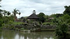 Pura Taman Ayun Royal Temple, Mengwi Village, Badung Regency, Bali, Indonesia Stock Footage