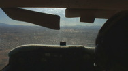 Stock Video Footage of Distant aerial view of runway at Tucson International airport