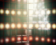 Smoky Stage Lights Backdrop Loop PAL Stock Footage