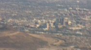 Downtown Tucson and the backside of A mountain Stock Footage