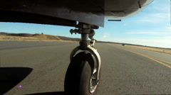 Airplane on Runnway (pt.2) Stock Footage