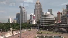 Bangkok landscape Stock Footage