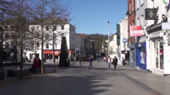 Waterford City 1 - stock footage