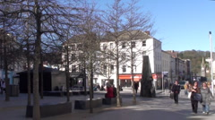 Waterford City 2 Stock Footage
