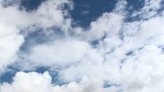 Time Lapse Cloud Tumble - stock footage