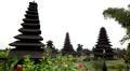 Hindu Mother Temple of Besakih, Pura Besakih, Agung Vulcano, Bali, Indonesia HD Footage