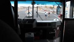City Bus - stock footage