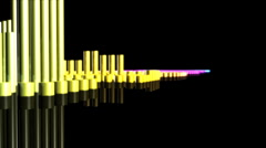 Playing Music Title - Equalizer 108 (HD) - stock footage
