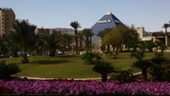 Imax 3D cinema theatre in Eilat, Israel - stock footage