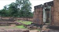 Angkor Wat, Cambodia, pan shot Stock Footage