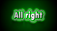 All right Label - stock footage
