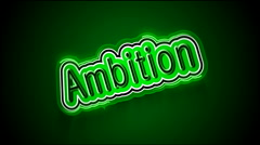 Ambition Label Stock Footage
