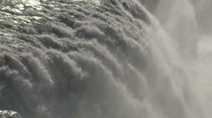 Close up of a waterfall Stock Footage