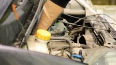 Car repair shop  Stock Footage