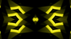 Golden metal gears,scroll shine disco rays light fancy,stage laser.particle,Des Stock Footage
