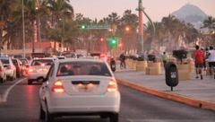 Mexico Traffic Stock Footage