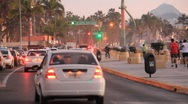 Stock Video Footage of Mexico Traffic