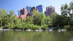Downtown Calgary Stock Footage