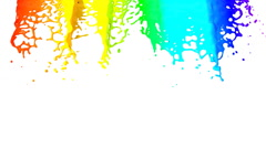 Stock Video Footage of Rainbow HD 1080, Loopable. Alpha.