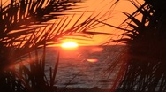 Stock Video Footage of Incredible Tropical Sunset
