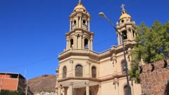 Catholic Church in Guaymas, Mexico Stock Footage