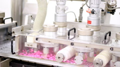 Pharmaceutical Drug Production - stock footage