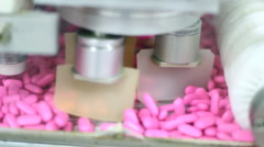Pill Packaging Machine - stock footage