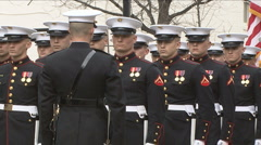 Marine Corps - stock footage