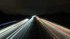 highway timelapse - stock footage