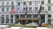 Stock Video Footage of Plaza Hotel New York