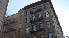 Friends Apartment Building New York - stock footage