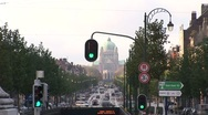 Stock Video Footage of Brussels Traffic In Front Of Capitol-Pond JPEG Export