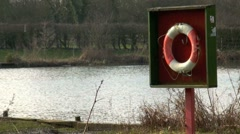 Safety Ring Lifebuoy by Lake Stock Footage
