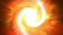 Swirl fire cyclones shaped tunnel hole in cosmos,Solar storms,flame hurricane,D Stock Footage