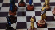 Playing Chess HD 1080p Stock Footage