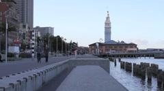 Boardwalk, San Francisco, CA - stock footage