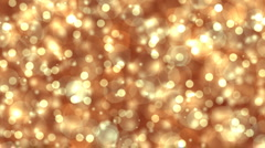 Gold shine Stock Footage