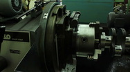 Stock Video Footage of Machine Spinning Crank Shaft
