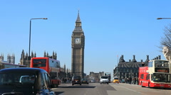 Big Ben Westminster Stock Footage