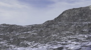 CG Mountains 03 (1080p 25 fps) Stock Footage