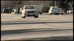 Street Trafic Stock Footage
