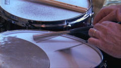 Jazz Drums w:sound - stock footage